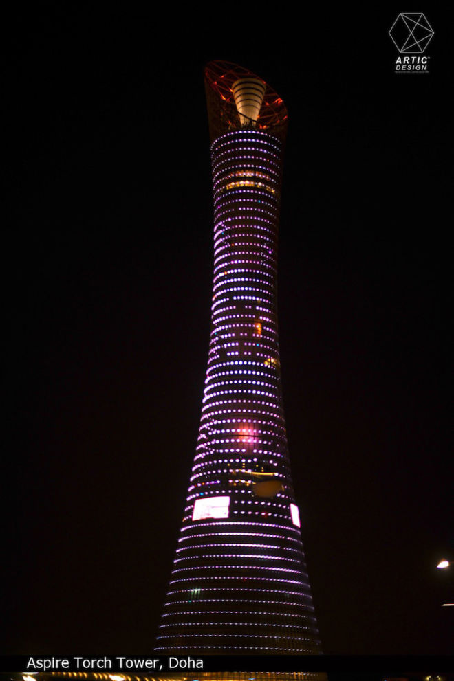 ASPIRE TORCH TOWER DOHA REAL